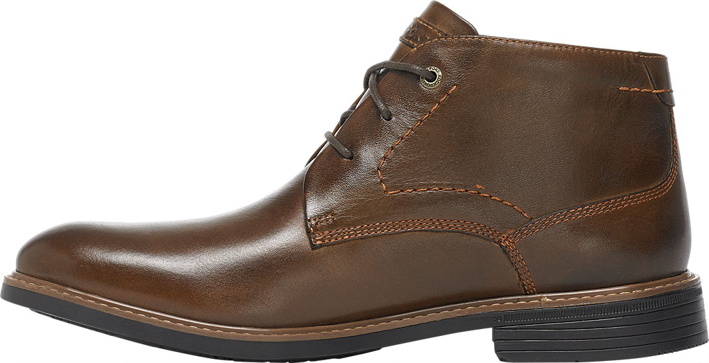 Men's Rockport Classic Break Chukka Boot, Dark Brown Leather, large, image 3