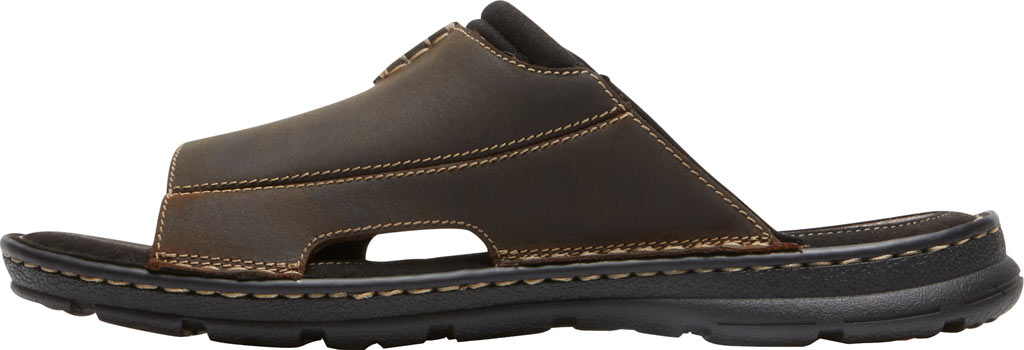 Men's Rockport Darwyn 2 Slide, Brown II Leather, large, image 3