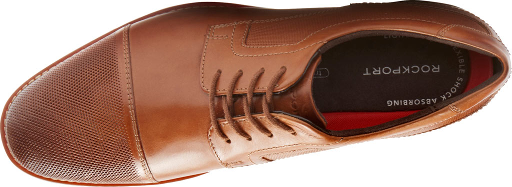 Men's Rockport Style Purpose Perf Cap Toe Blucher, , large, image 4