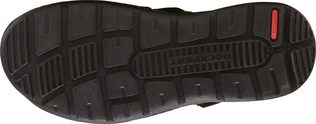 Men's Rockport Darwyn Fishermen Sandal, Black II Leather, large, image 5