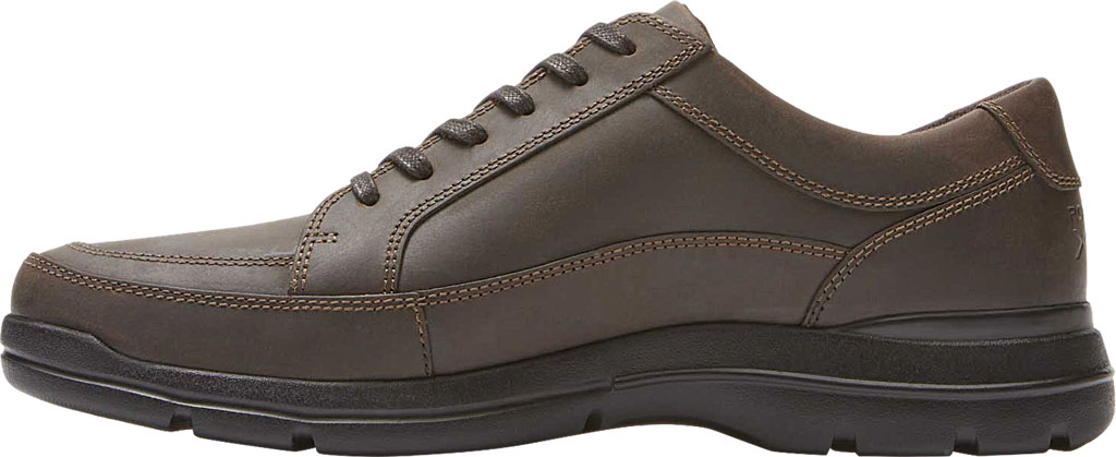 Men's Rockport Junction Point Lace To Toe Oxford, Chocolate Leather, large, image 3