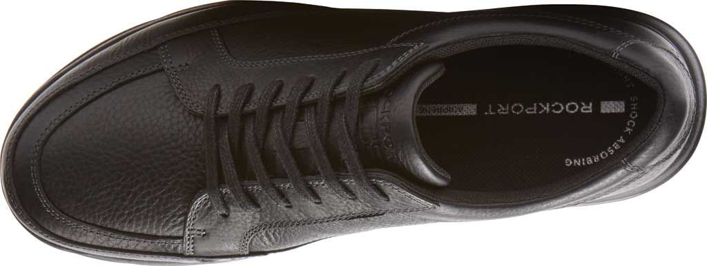 Men's Rockport Junction Point Lace To Toe Oxford, Black Leather, large, image 4