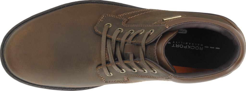Men's Rockport Storm Surge Plain Toe Boot, Tan Leather, large, image 4