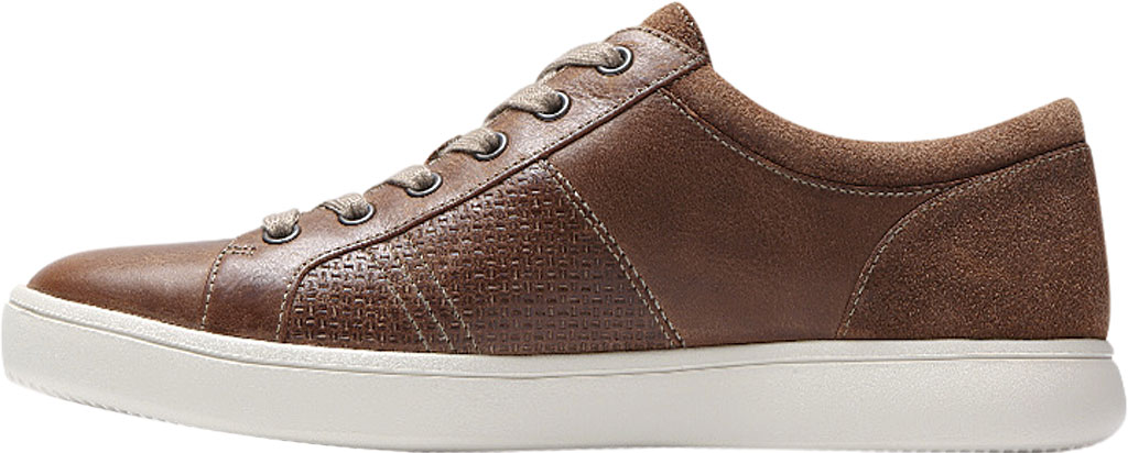 Men's Rockport Colle Tie Sneaker, Tan Leather, large, image 3