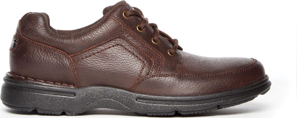Men's Rockport Eureka Plus Mudguard Oxford, Dark Brown Leather, large, image 2