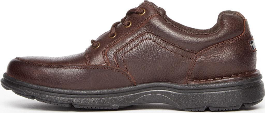 Men's Rockport Eureka Plus Mudguard Oxford, Dark Brown Leather, large, image 3