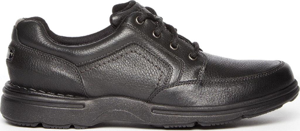 Men's Rockport Eureka Plus Mudguard Oxford, Black Leather, large, image 2