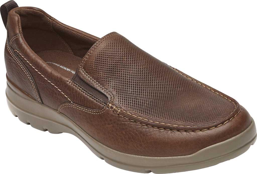 Men's Rockport City Edge Slip-On, Bison Leather, large, image 1