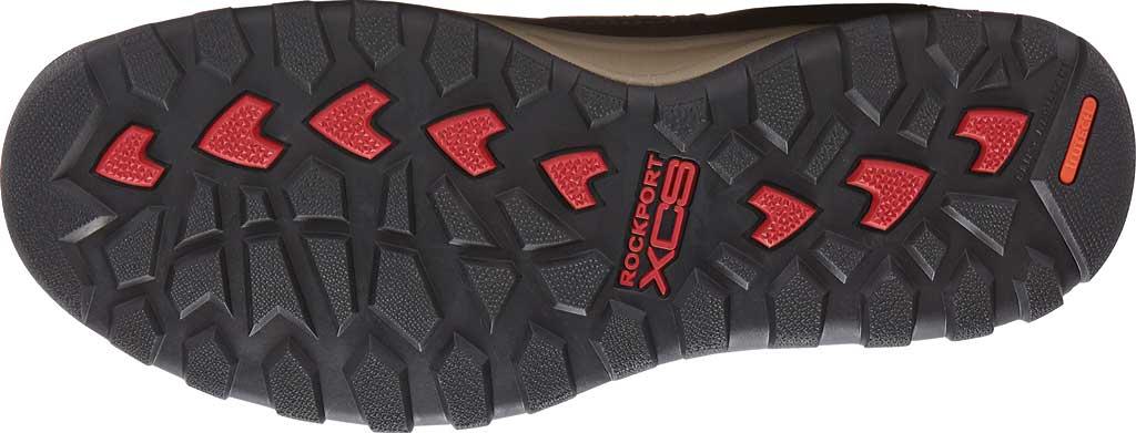 Men's Rockport Trail Technique Adjustable Sandal, Black Leather, large, image 5