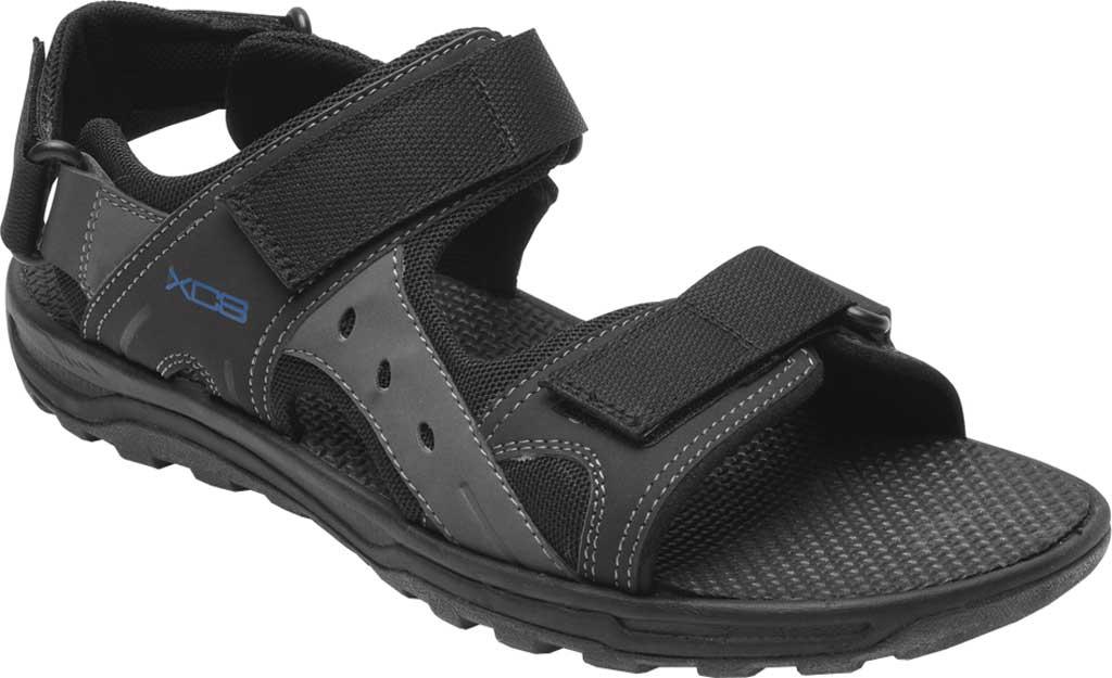 Men's Rockport Trail Technique Adjustable Sandal, Black Multi Polyurethane/Mesh, large, image 1