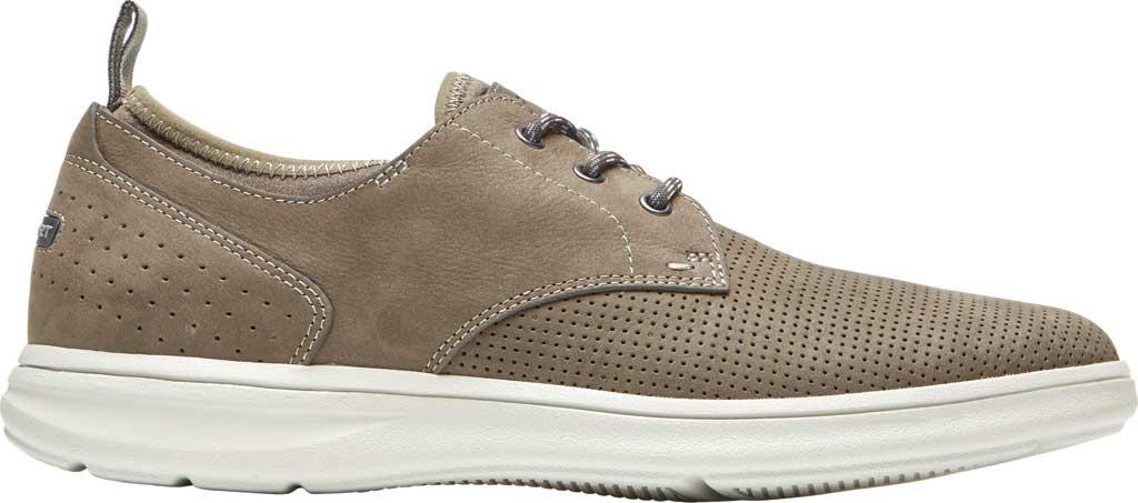 Men's Rockport Zaden Plain Toe Oxford, Breen Perfed Leather, large, image 2