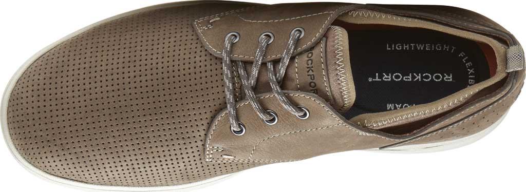 Men's Rockport Zaden Plain Toe Oxford, Breen Perfed Leather, large, image 4
