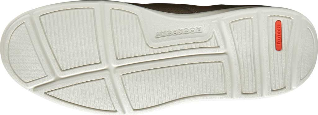Men's Rockport Zaden Plain Toe Oxford, Breen Perfed Leather, large, image 5