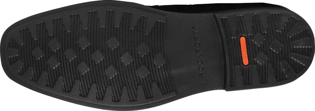Men's Rockport Slayter Plain Toe Oxford, Black Leather, large, image 5