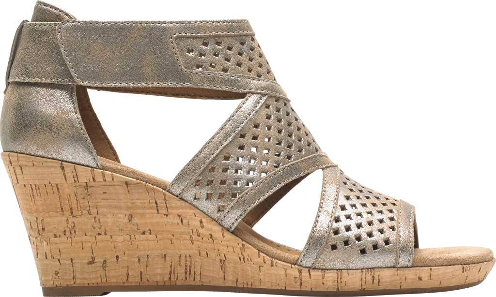 Women's Rockport Cobb Hill Janna Caged Strappy Sandal, , large, image 2