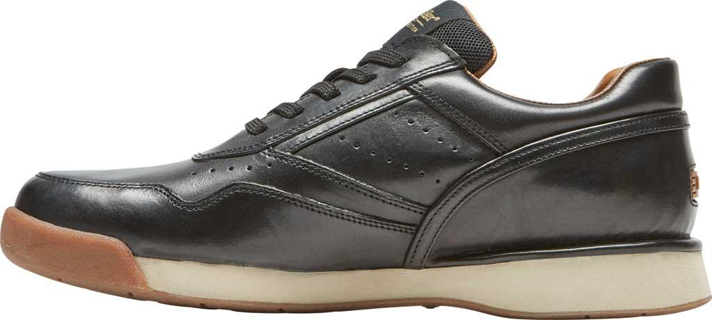 Men's Rockport ProWalker 7100 LTD Sneaker, Black Burnished Leather, large, image 3