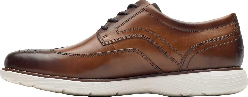 Men's Rockport Garett Wing Tip, Cognac Leather, large, image 3