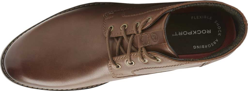 Men's Rockport Colden Chukka Boot, Dark Tan Antiqued Leather, large, image 4