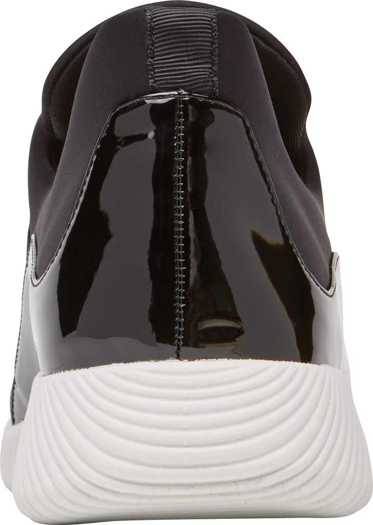 Women's Rockport City Lites Robyne Slip On Sneaker, Black Textile, large, image 3