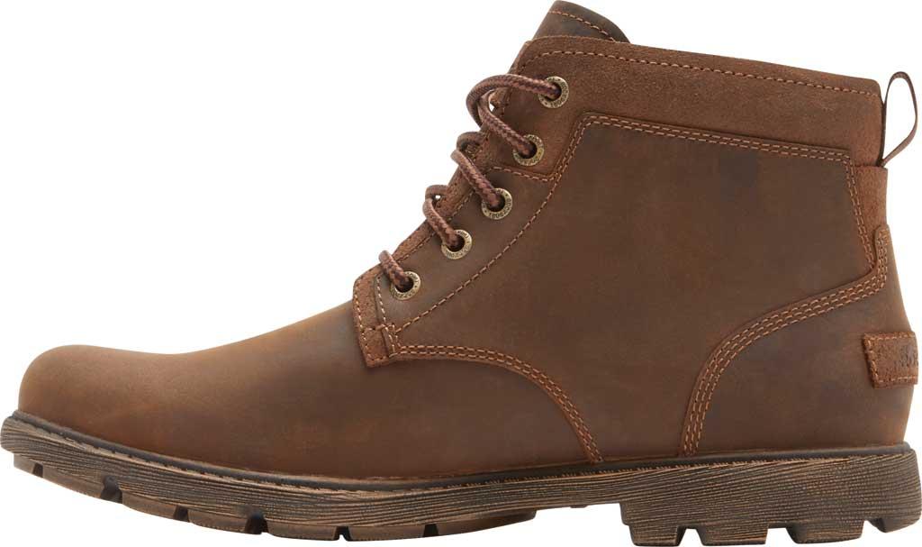 Men's Rockport Rugged Bucks II Chukka Boot, Boston Tan Waterproof Leather/Suede, large, image 3