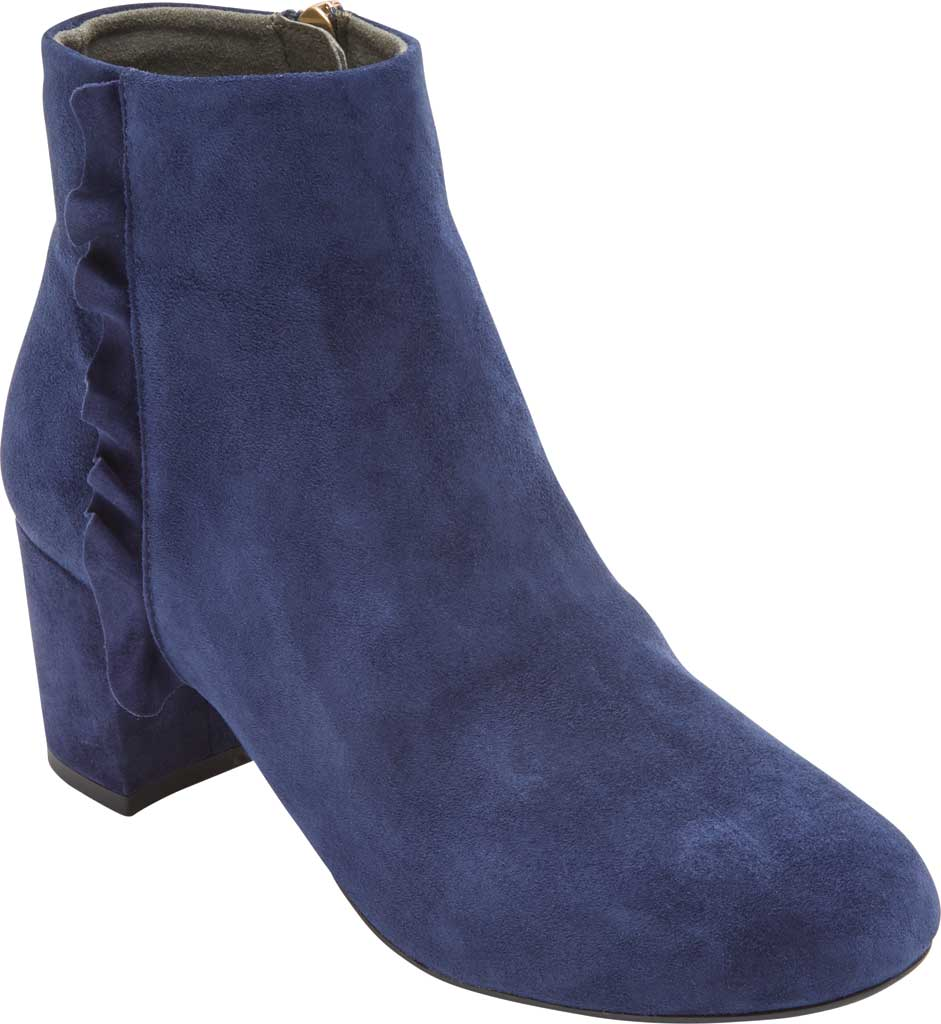 Women's Rockport Total Motion Oaklee Ruffle Ankle Bootie, , large, image 1