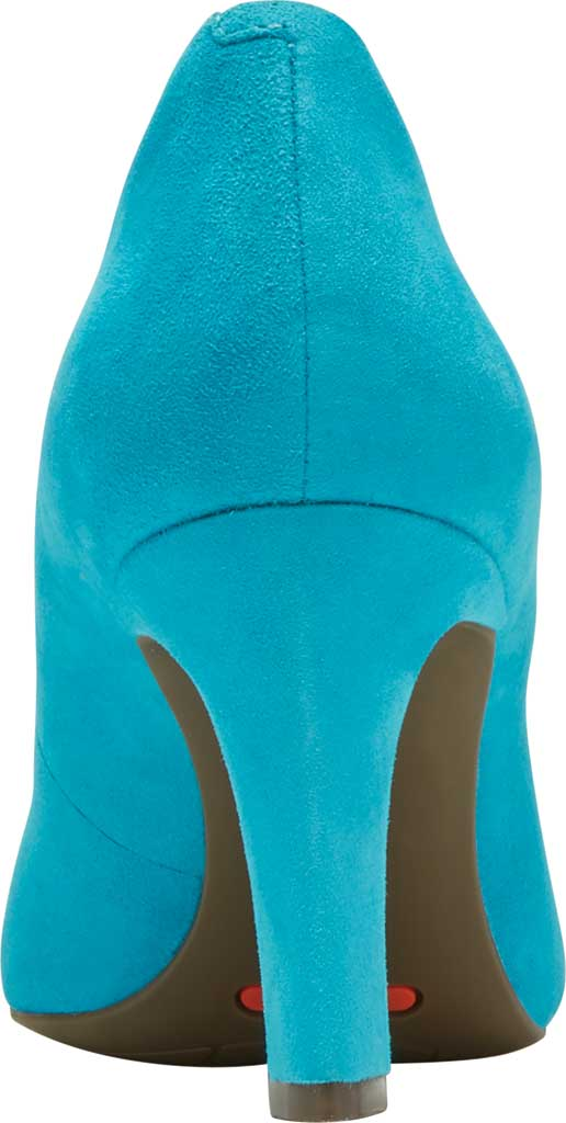 Women's Rockport Total Motion Sheehan Pointed Toe Pump, Bluejay Suede, large, image 3