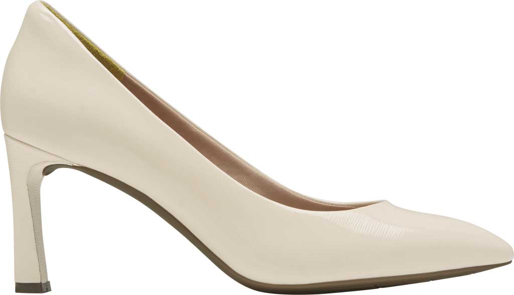 Women's Rockport Total Motion Sheehan Pointed Toe Pump, Vanilla Patent, large, image 2