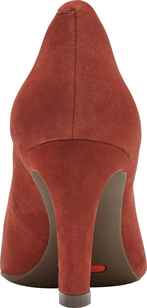 Women's Rockport Total Motion Sheehan Pointed Toe Pump, Cider Kid Suede, large, image 3