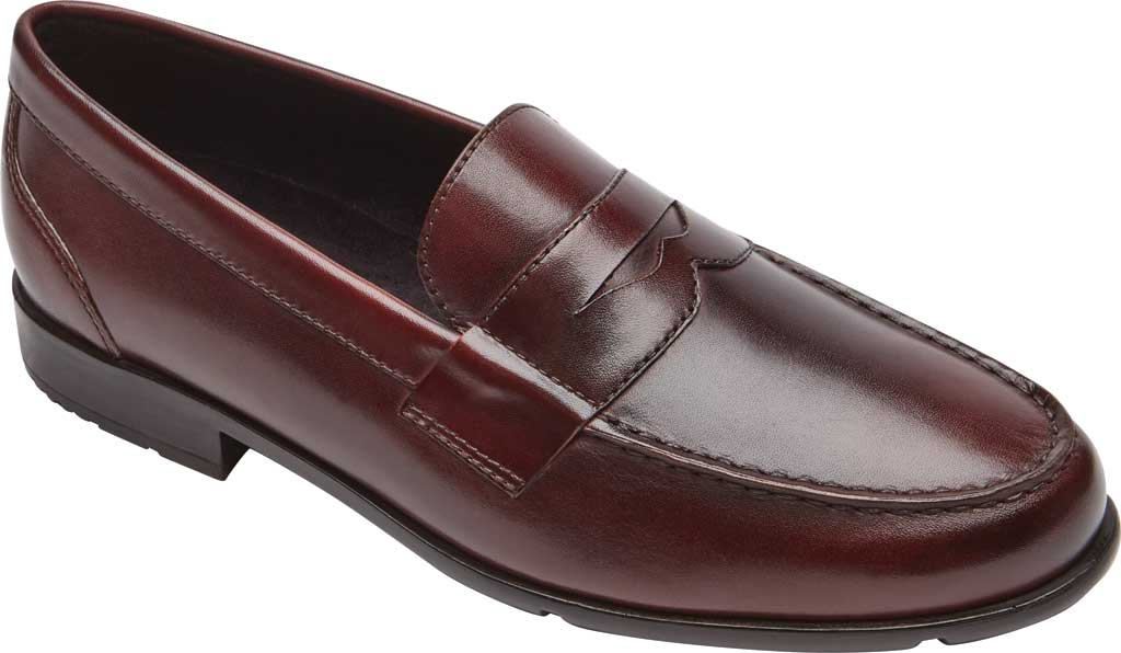Men's Rockport Classic Loafer Penny, Andorra Glass Leather, large, image 1