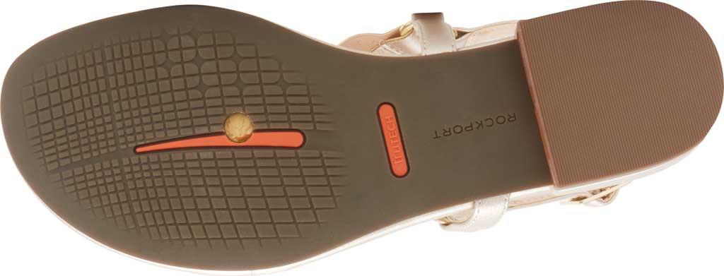 Women's Rockport Total Motion Zosia Wave Thong Sandal, , large, image 5