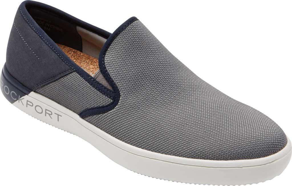 Men's Rockport City Lites Colle Slip On Sneaker, Grey Multi Synthetic/Textile, large, image 1