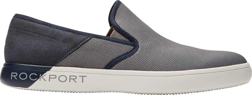 Men's Rockport City Lites Colle Slip On Sneaker, Grey Multi Synthetic/Textile, large, image 2