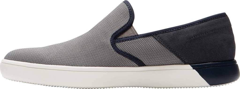 Men's Rockport City Lites Colle Slip On Sneaker, Grey Multi Synthetic/Textile, large, image 3