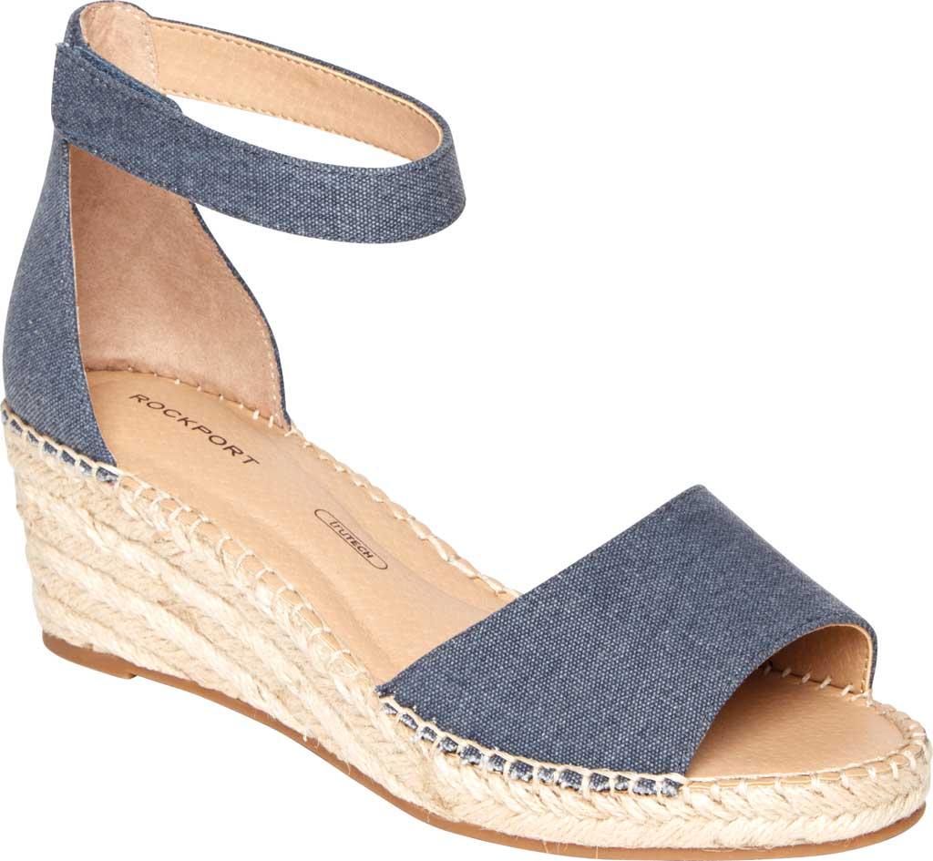 Women's Rockport Marah 2 Piece Ankle Strap Wedge Sandal, , large, image 1