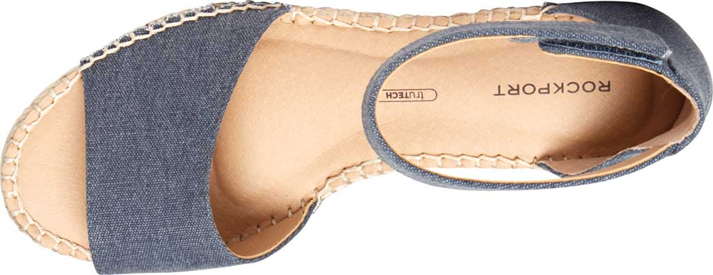 Women's Rockport Marah 2 Piece Ankle Strap Wedge Sandal, , large, image 4
