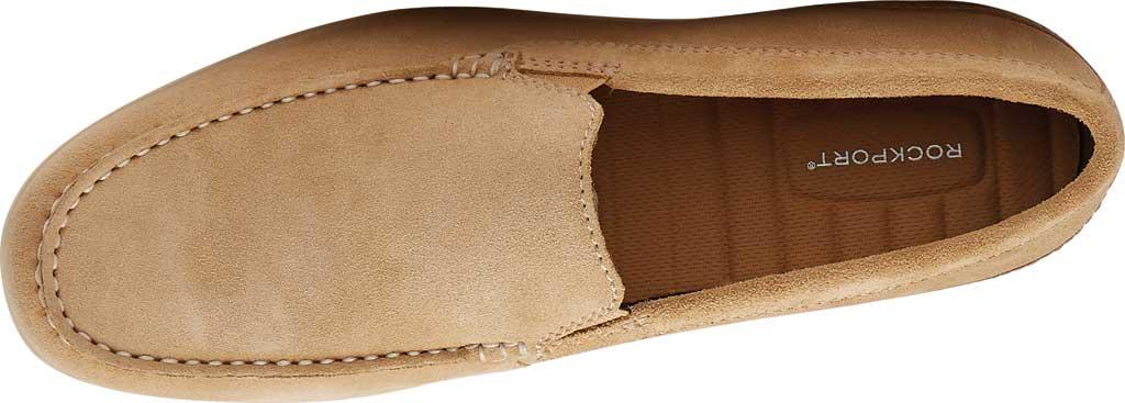 Men's Rockport Malcom Venetian Moc Toe Loafer, Tan Suede, large, image 4