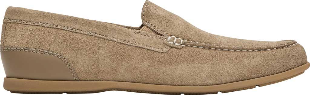 Men's Rockport Malcom Venetian Moc Toe Loafer, New Vicuna Suede, large, image 2