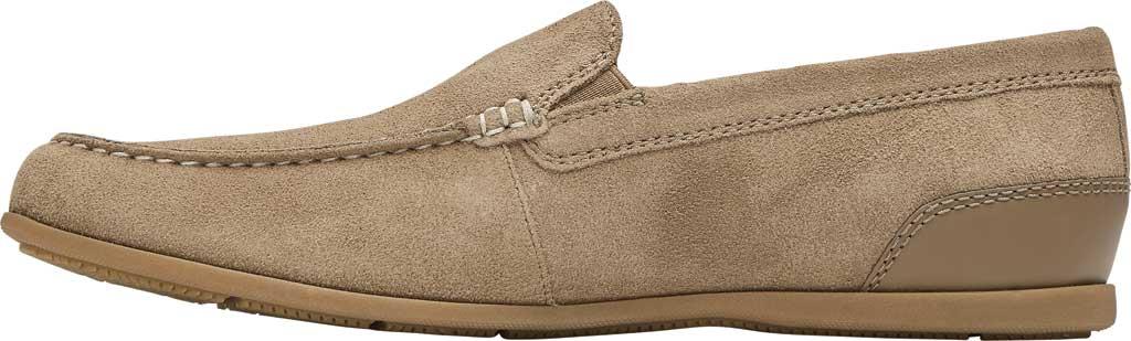 Men's Rockport Malcom Venetian Moc Toe Loafer, New Vicuna Suede, large, image 3