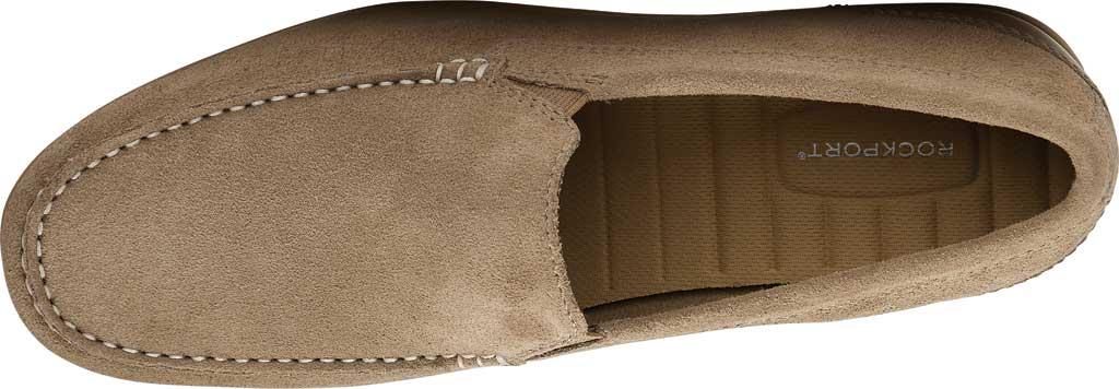 Men's Rockport Malcom Venetian Moc Toe Loafer, New Vicuna Suede, large, image 4