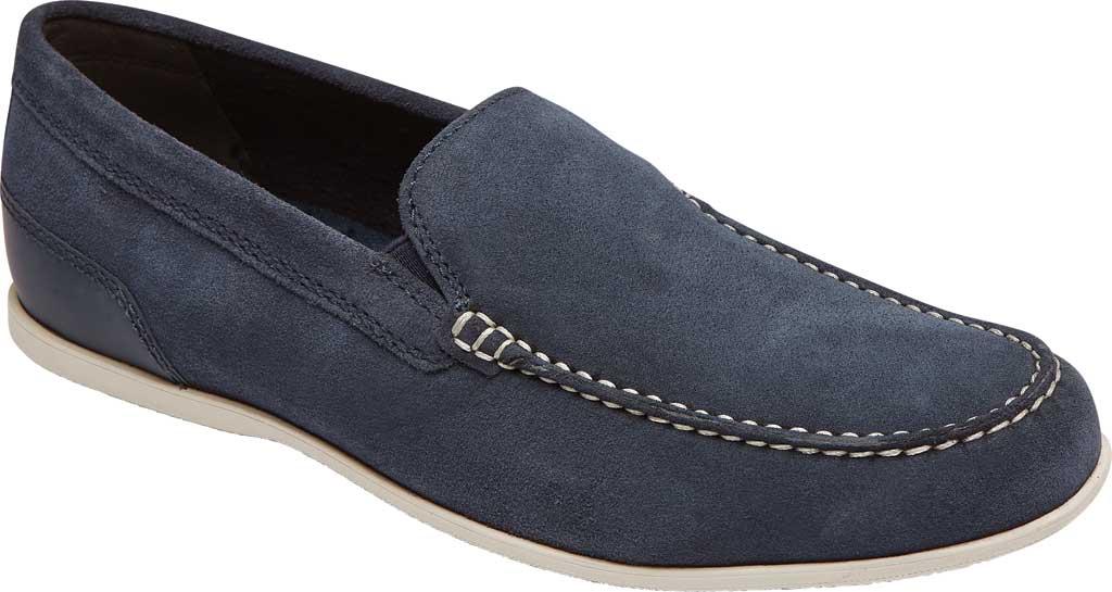 Men's Rockport Malcom Venetian Moc Toe Loafer, New Dress Blue Leather, large, image 1