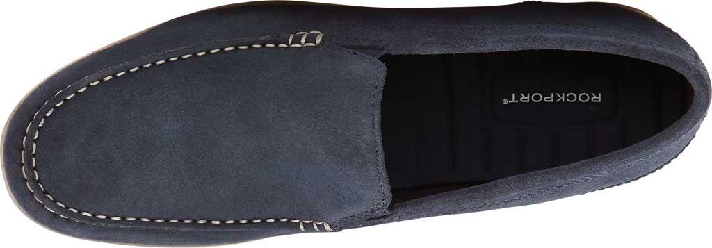 Men's Rockport Malcom Venetian Moc Toe Loafer, New Dress Blue Leather, large, image 4