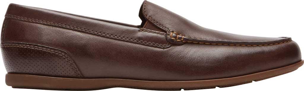 Men's Rockport Malcom Venetian Moc Toe Loafer, Java Leather, large, image 2