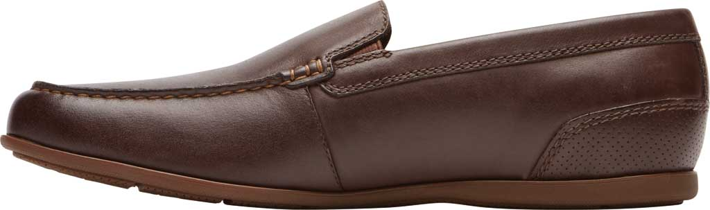 Men's Rockport Malcom Venetian Moc Toe Loafer, Java Leather, large, image 3