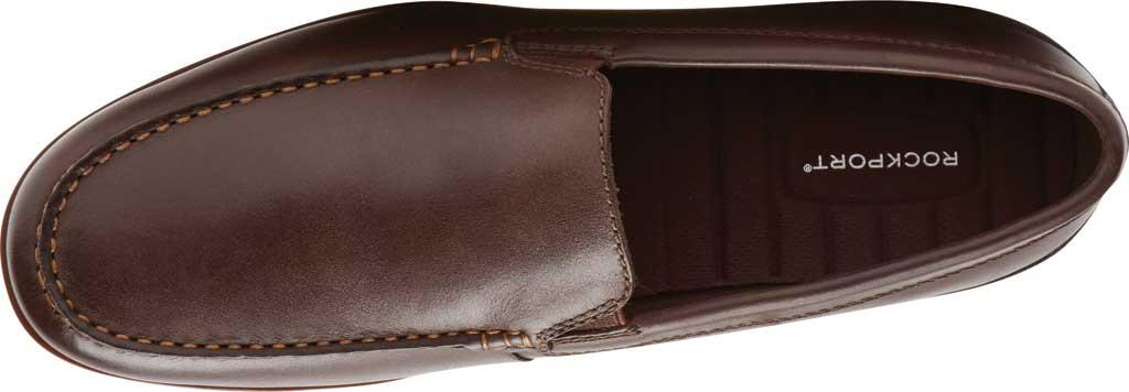 Men's Rockport Malcom Venetian Moc Toe Loafer, Java Leather, large, image 4