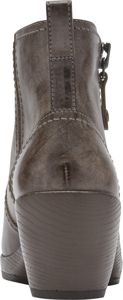 Women's Rockport Cobb Hill Presley Zip Ankle Bootie, Fossil Leather, large, image 3