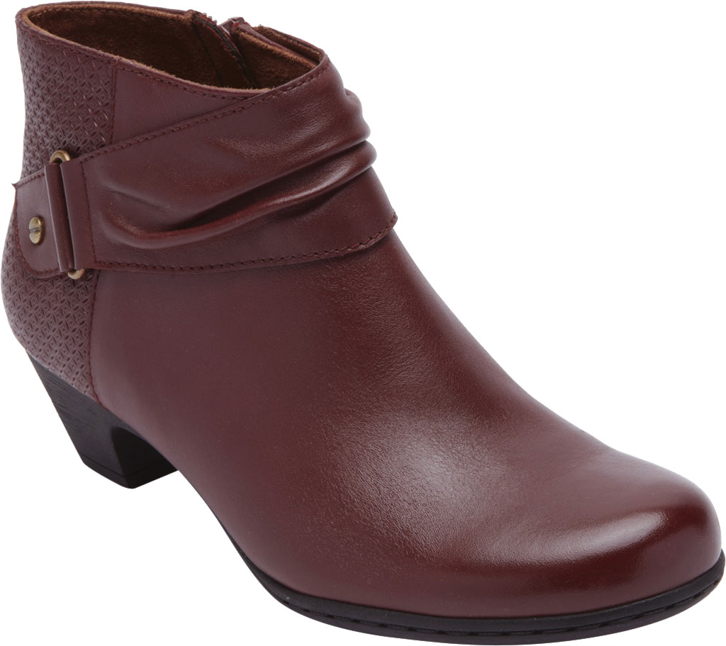 Women's Rockport Brynn Rouched Ankle Bootie, , large, image 1