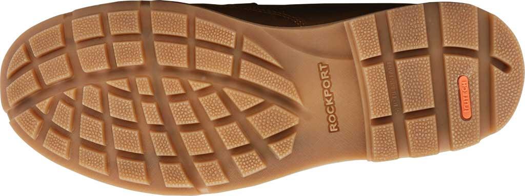 Men's Rockport Patten Waterproof Moc Toe Boot, Brown Waterproof Leather, large, image 5
