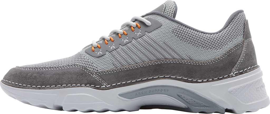 Men's Rockport Rocsports Ubal Sneaker, Grey Mesh/Leather, large, image 3