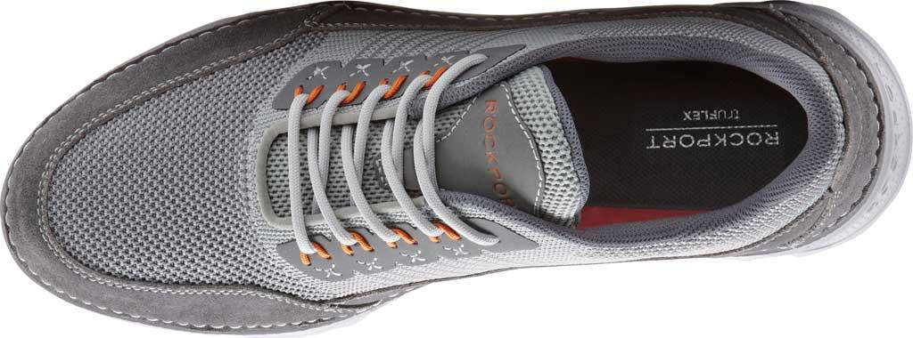 Men's Rockport Rocsports Ubal Sneaker, Grey Mesh/Leather, large, image 4
