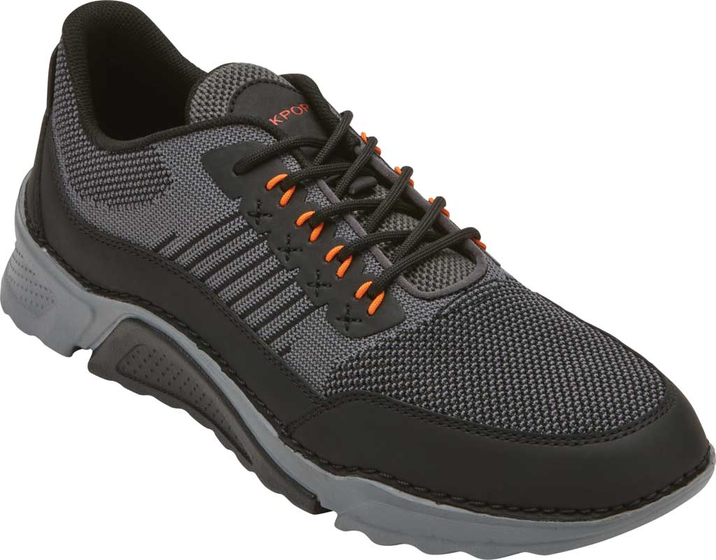Men's Rockport Rocsports Ubal Sneaker, Magnet Mesh/Leather, large, image 1